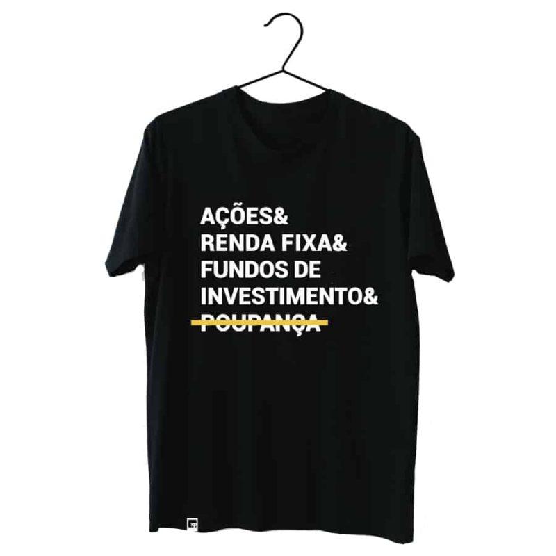Camiseta Oficial XP Store Poupança Riscada