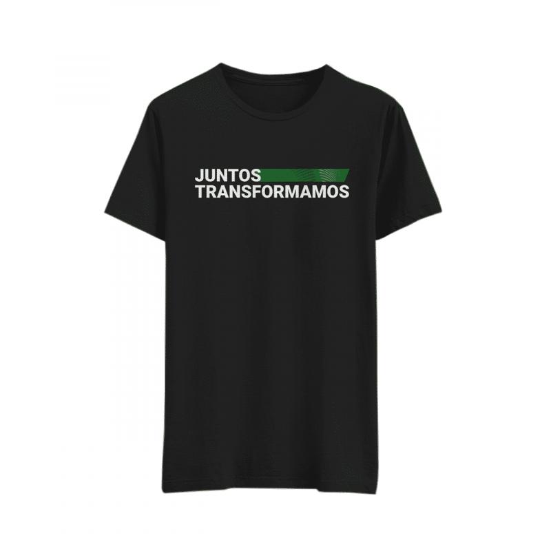Camiseta Oficial Juntos Transformamos