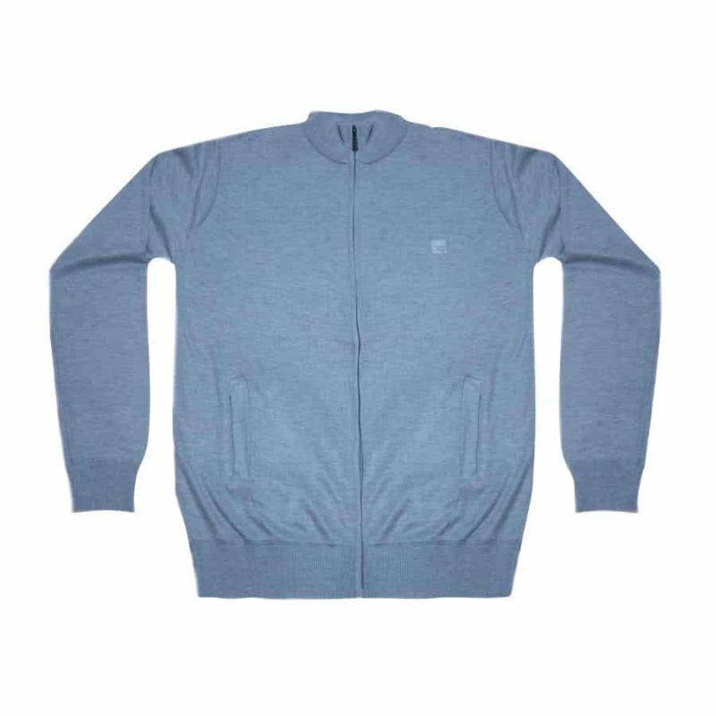 Suéter Zíper Oficial XP Store - Cinza Claro